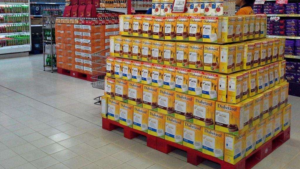 Promosi Harga Susu di Transmart Carrefour