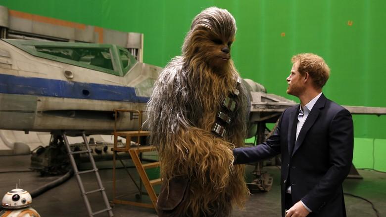 Chewie Tampak Berbeda dalam Versi Manga Star Wars