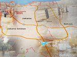 Data BPBD: Tinggi Banjir di Kampung Melayu Capai 1 Meter