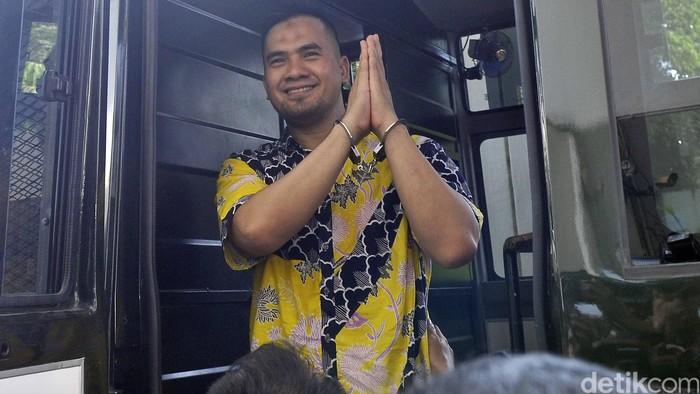 Saipul Jamil menjalani sidang perdana kasus pencabulan di Pengadilan Negeri Jakarta Utara, Kamis (21/4).