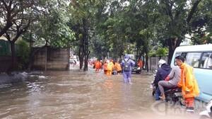 Ini Daftar Sejumlah Ruas Jalan yang Banjir di Jakarta dan Berimbas Kemacetan