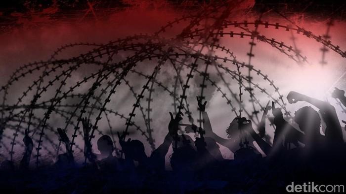 Ilustrasi Kerusuhan Penjara