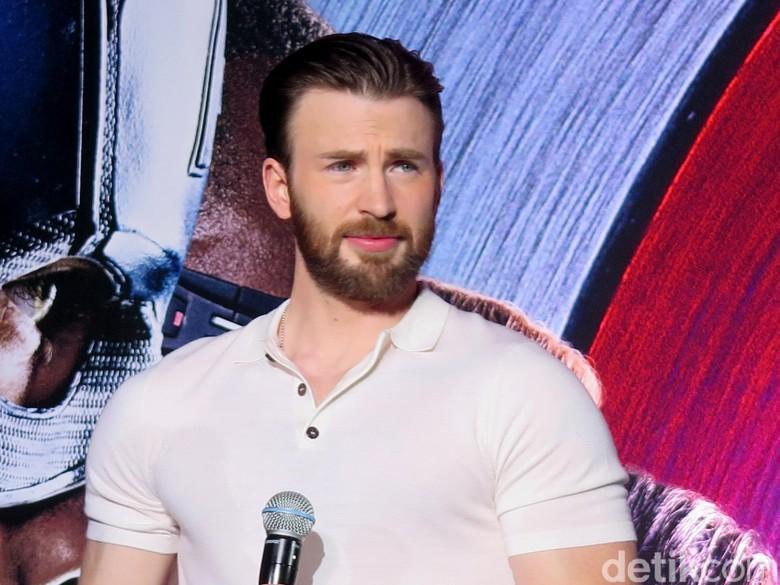 Chris Evans Beri Kode Akhir Captain America di Avengers 4