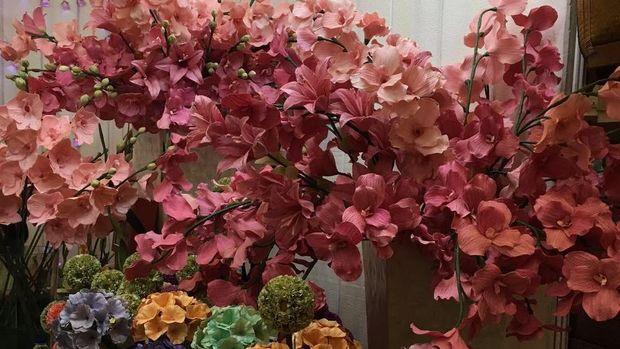 Bunga Cantik Dari Kulit Jagung Laris Manis Sampai Tembus Ekspor
