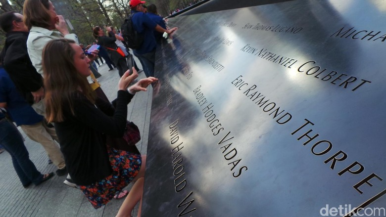 Monumen Ground Zero di New York, AS (Fajar/detikcom)