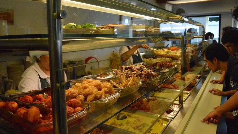 Kuliner halal di Kampong Glam (Dana/detikTravel)