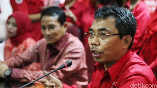 Ketua F-PDIP DPRD DKI Jakarta Gembong Warsono (Foto: Ari Saputra/detikcom)