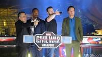 Acara resmi berakhir saat Tim Captain menjatuhkan mic yang menandakan mereka berhasil menjawab tantangan Tim Iron Man.