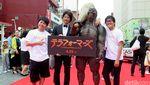 Para Bintang di Red Carpet Okinawa International Film Festival