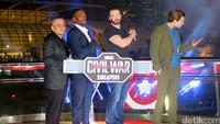 Ajang tur Asia Captain America: Civil War di Singapura sukses digelar selama tiga hari mulai 20 April hingga 22 April 2016.
