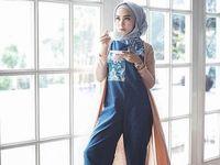 Foto Gaya Urban dengan Sentuhan Indonesia Ala 5 Selebgram Hijab