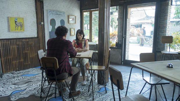 Adegan 'AADC 2' yang ditirukan Milly dan Mamet.