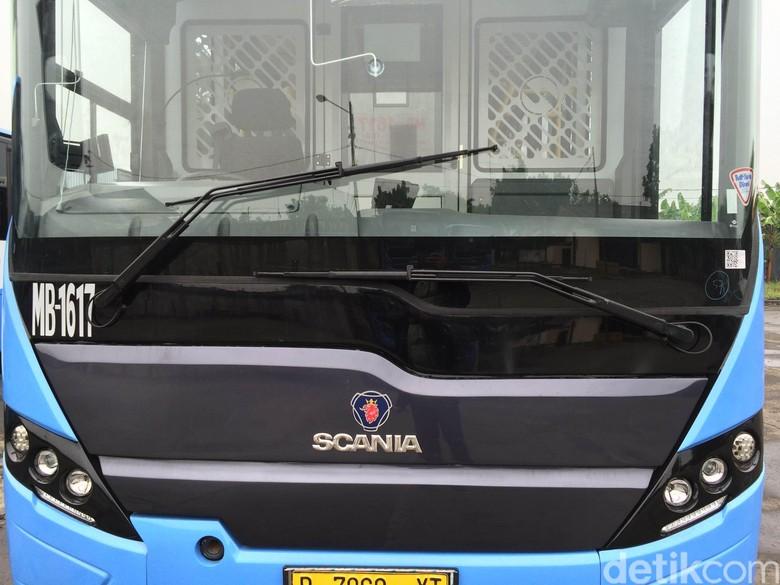 Ilustrasi bus Scania. Foto: Bisma Alief/detikcom