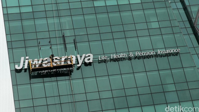 Jiwasraya/Foto: Ari Saputra