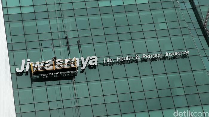 Logo asuransi Jiwasraya di Jl Rasuna Said