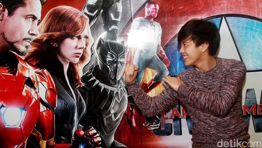 Ammar Zoni, Bisma hingga Bastian Ikut Demam Captain America: Civil War
