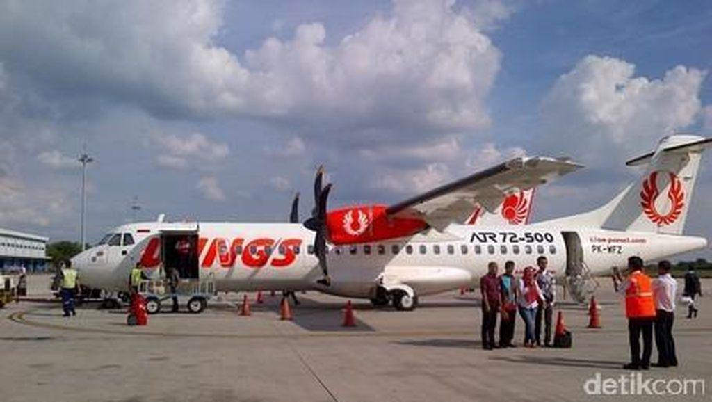 Wings Air Lakukan Uji Coba Terbang dari Tanjung Karang ke Krui