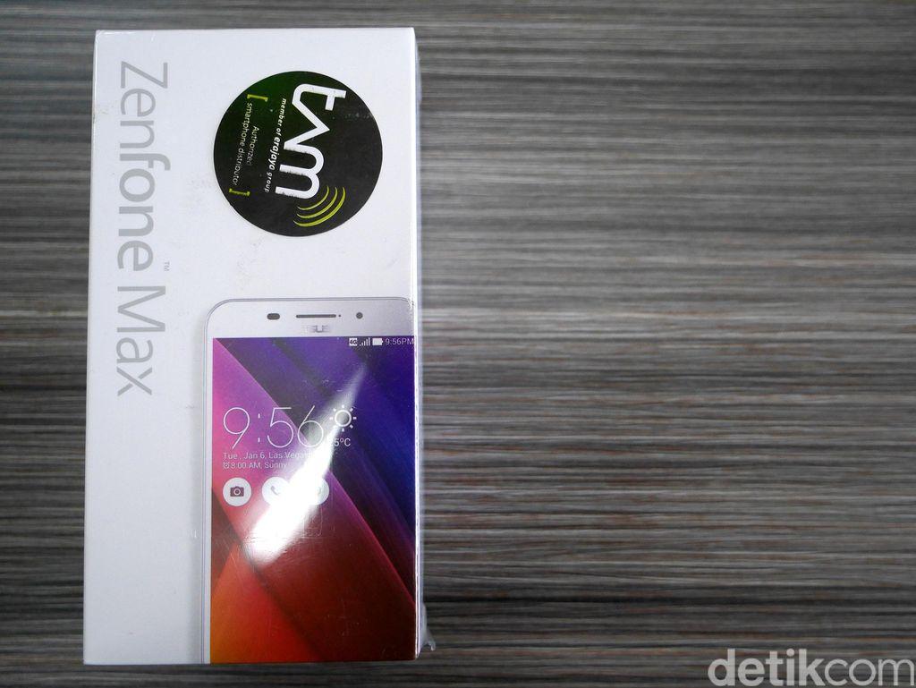 Dengan kemampuan baterai tersebut Asus juga mengklaim ZenFone Max mampu bertahan hingga dua atau tiga hari Foto: detikINET - Anggoro Suryo Jati