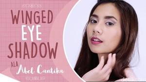 Abel Cantika Praktis Membuat Winged Eyeshadow