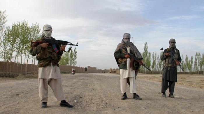 Militan Taliban di Afghanistan (Stringer Afghanistan/Reuters)