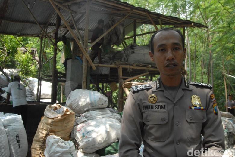 Brigadir Iwan, Polisi yang Sukses Daur Ulang Sampah dan Bos bagi 19 Karyawan