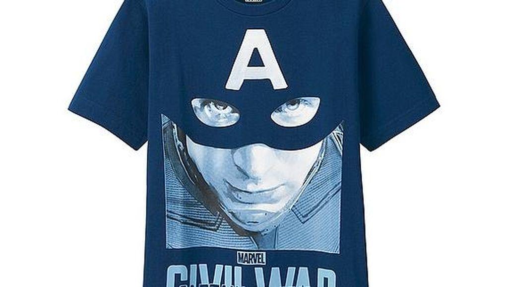 Uniqlo Rilis Koleksi T-Shirt Captain America Hingga Karya Pharrell Williams