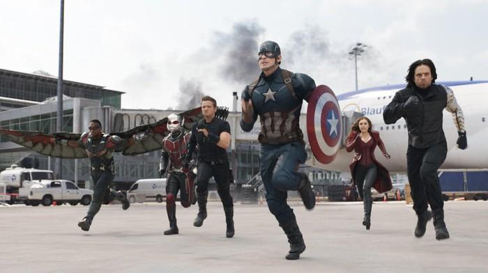 Cuplikan film Captain Amerika: Civil War