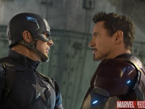 Pertarungan Tim Captain America vs Tim Iron Man di Civil War