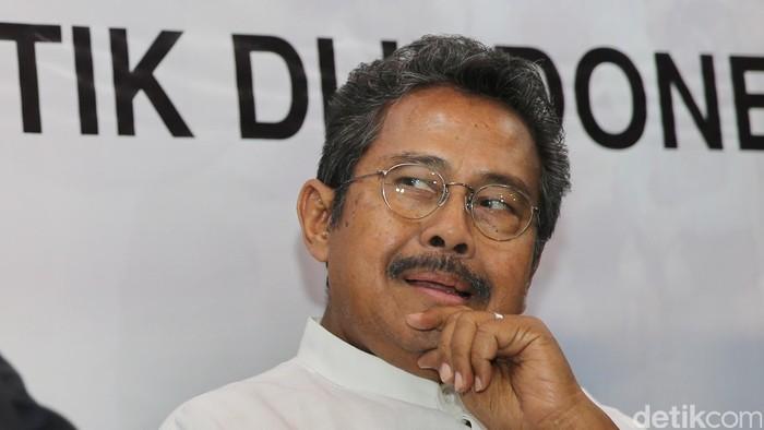 Pengusaha, mantan menteri dan tokoh senior Golkar Fahmi Idris