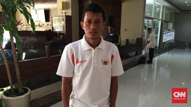 Ismed Sofyan merupakan pemain senior yang cukup dihormati di skuat Persija selain Bambang Pamungkas. (