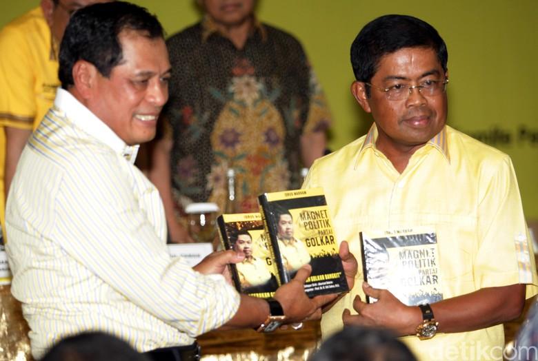 Loyalis Akom: Nurdin Halid dkk Ditolak Jadi Pengurus Golkar