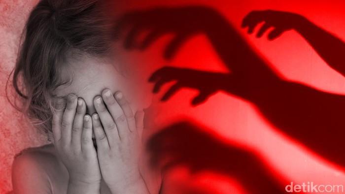 Ilustrasi pemerkosaan (Zaki Alfarabi/detikcom)