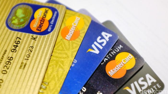 Pembayaran non tunai dengan kartu VISA MasterCard