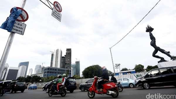 Larangan Motor di Thamrin Dicabut, Polisi Sarankan Ganjil-Genap