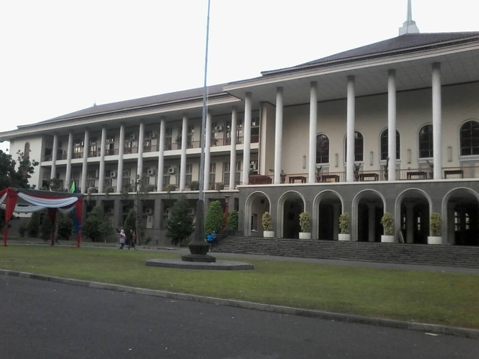 Balairung Gedung Rektorat UGM. Foto: Dok. Istimewa