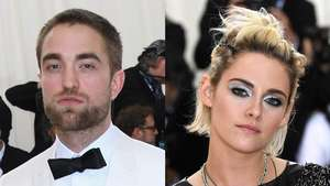 Robert Pattinson Gagah Berjas Biru