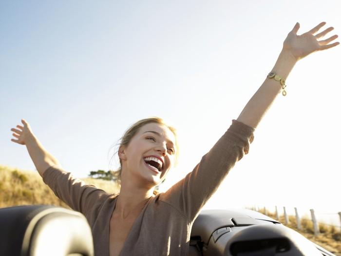 Atasi stres dengan melakukan aktivitas sederhana yang membahagiakan hati. Foto: Thinkstock