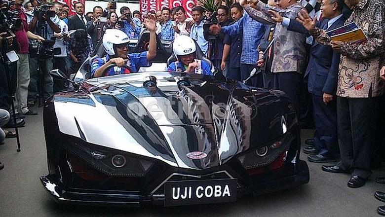 Mobil listrik buatan ITS Foto: File Foto detikOto