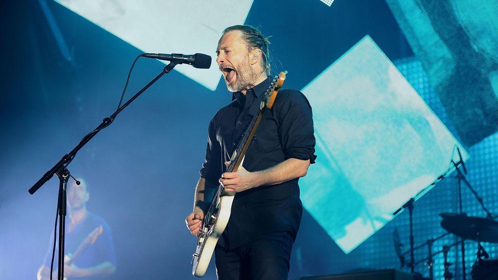 Semangat Thom Yorke Kampanyekan Greenpeace di Lagu Baru