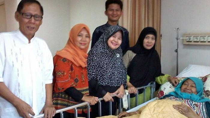 Tutty Alawiyah saat dirawat di RS JMC Jakarta. Foto: Istimewa