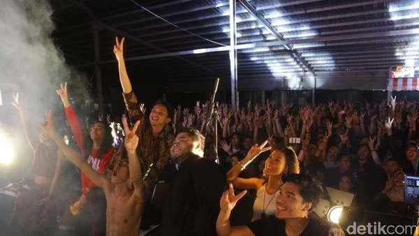 Barasuara Tampil Membara di Malang