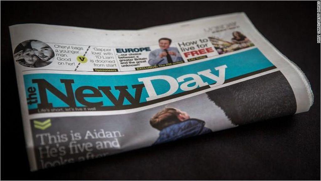 Koran di Inggris Ini Hanya Bertahan Hidup 10 Minggu