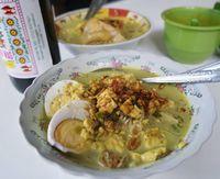 Orem-orem, makanan khas Malang yang langka.