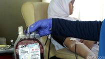 PMI Bandung Kosong Stok Darah Golongan A dan AB