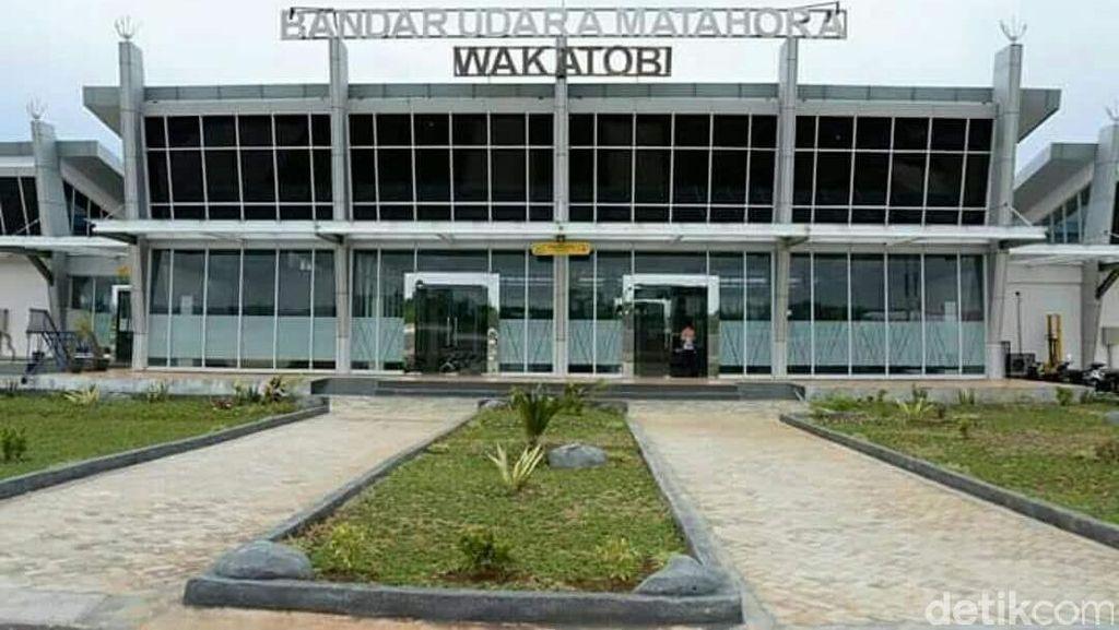 Diresmikan Menhub, Ini Wajah Baru Bandara Matahora Wakatobi