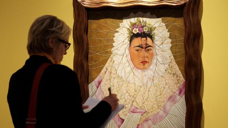 Lukisan Tersembunyi Frida Kahlo Akhirnya Dilelang