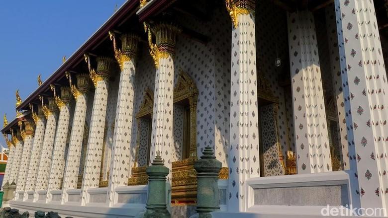 kuil wat pho di bangkok, thailand