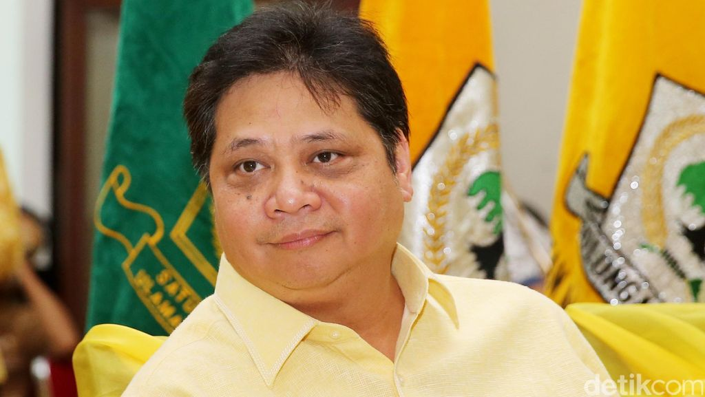 Ketum Airlangga Minta Nurdin Halid Kembali Fokus Urus DPP Golkar