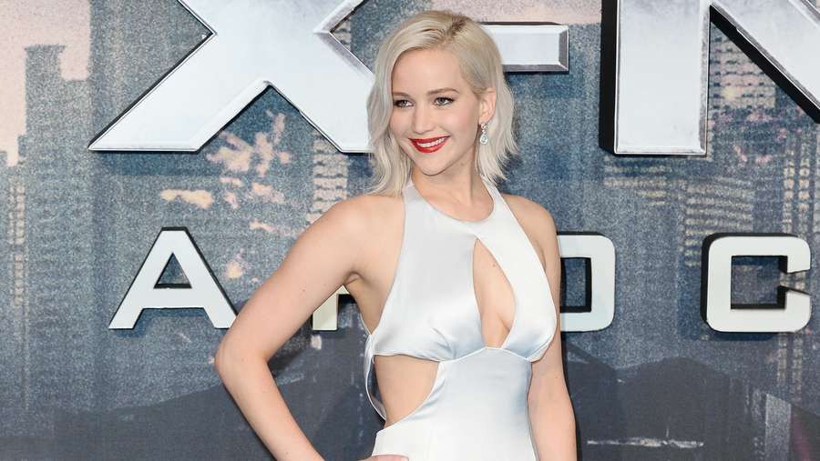 Jennifer Lawrence Curi Perhatian di Screening X-Men Apocalypse