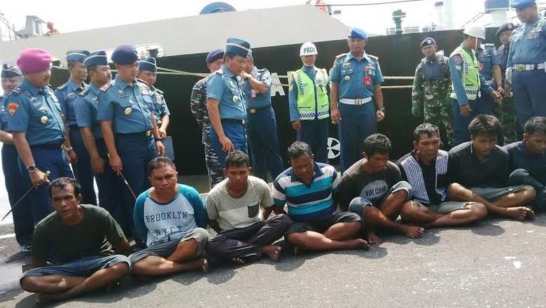 Perompak Kapal Singapura Mengaku Diupah Rp 200 Juta